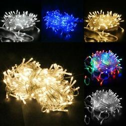 100-1000LED Christmas Fairy String Lights Indoor Outdoor Xma