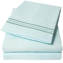 1500 Supreme Collection Extra Soft Queen Sheets Set, Light B