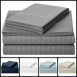 1800 Count Bamboo Egyptian Cotton Comfort Extra Soft Bed She