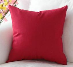 "20''-22""Decorative Pillow Cover 100% Cotton Throw Cushion Co"