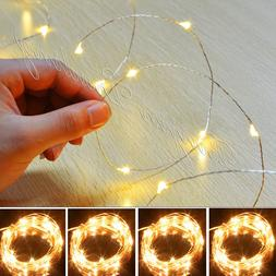 20/30LED MICRO WIRE STRING FAIRY PARTY XMAS WEDDING CHRISTMA