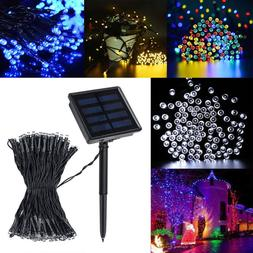 200 LED Solar Power String Fairy Light Garden Christmas Outd
