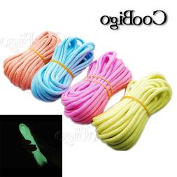 20FT Glow in the Dark Parachute 550 Cord Rope 7 Strand Core