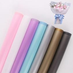 20pcs Flower Wrapping Paper Frosted Flor