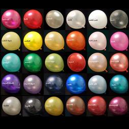 20x 12 inch Pearl Latex Colorful Thick Durable Wedding Party