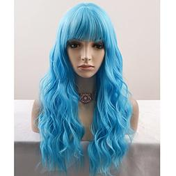BERON 23'' Women Girls Lovely Synthetic Mix Color Long C