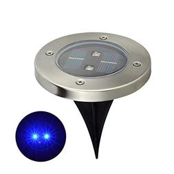 angel3292 2LED Solar Power Buried Light Waterproof Garden La