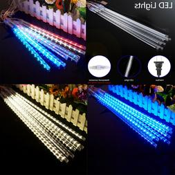 30cm 192 LED String Lights 8 Tube Meteor Shower Rain Xmas Sn