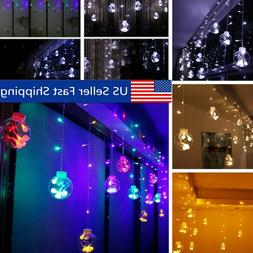 3X0.65M Indoor Outdoor Christmas String Fairy Wedding Curtai