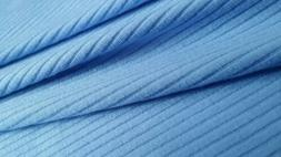 """4x2 Jersey Rib Stripes with Light Blue color ,50""""/52"""" width,"""