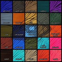 550 Paracord Mil Spec Type III 7 strand parachute cord 10ft,