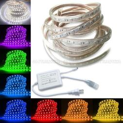5M-30M 5050 SMD LED Strip Rope Tape Light Xmas Lamp Home Out