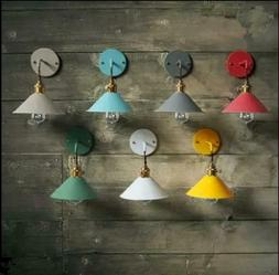 7 Color Metal Wall Sconce Lamp Lighting Fixture Home Decor D