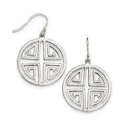 925 sterling silver chinese symbol drop dangle