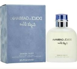 Dolce & Gabbana Light Blue Cologne 4.2 oz EDT Spray for Men
