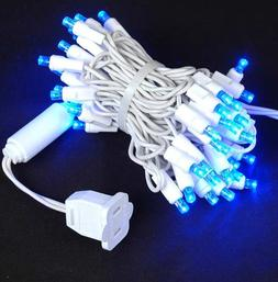 Novelty Lights, Inc. CGWA50/2.5-W-BL Commercial LED Christma