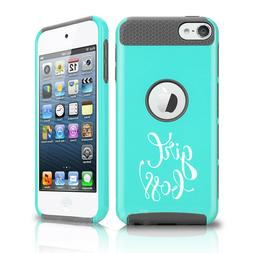 For Apple iPod Touch 5th 6th Shockproof Hard Case Cover Girl