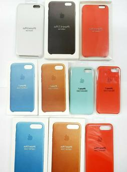 Authentic Apple Leather/Silicone Case For iPhone 6/7/8 Plus