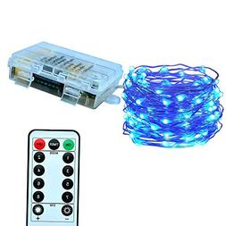 Le Zoey Battery Fairy Lights 33Fft 100leds 8 Modes Waterproo