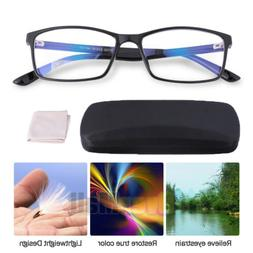 Blue Light Blocking Glasses Gamer LCD/LED Screen & Computer