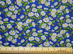 By the 1/2 yd 100% cotton fabric Fabric Traditions Light Blu