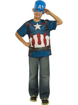 Captain America T-Shirt And Mask