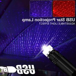 Car and Home Ceiling Projector Star Light USB Night Romantic