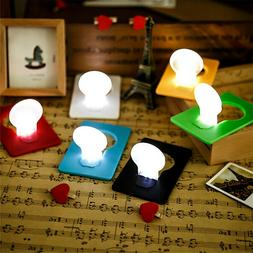 Creative Gadget Foldable Card LED Night Lights Lamp Pocket W