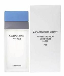 D & G Light Blue Dolce Gabbana Perfume 3.3/3.4 oz edt NEW te