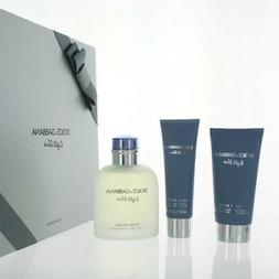 D&G Light Blue Pc Gift Set With 4.2 Oz By Dolce & Gabbana Fo