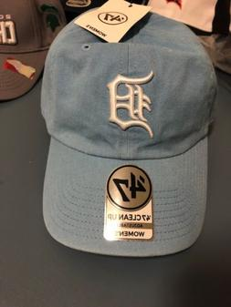 Detroit Tigers Hat Cap Womens NEW One Size Adjustable Light