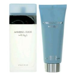 Dolce & Gabbana Light Blue 3.3 Oz.EDT Spray &3.3 Oz.B/Cream