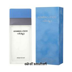 * DOLCE & GABBANA LIGHT BLUE for Women * D&G 3.4 oz  EDT Spr