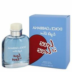 Dolce & Gabbana Light Blue LOVE IS LOVE EDT Pour HOMME 4.2 O
