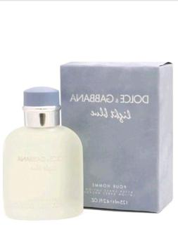 Dolce & Gabbana Light Blue men Eau de Toilette   4.2 oz  NEW