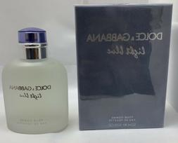 Dolce & Gabbana Light Blue Perfume 4.2oz 125ml Men's Eau de