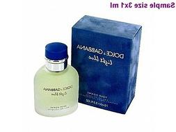 DOLCE & GABBANA LIGHT BLUE POUR HOMME MEN'S EAU DE TOILETTE