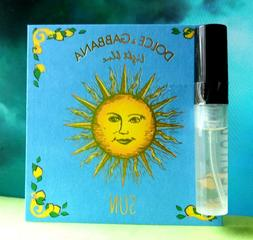 Dolce & Gabbana Light Blue Sun WOMEN SAMPLE eau de toilette