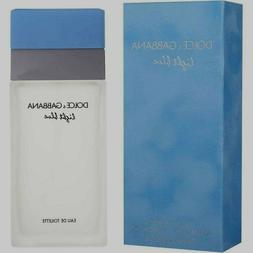 DOLCE & GABBANA LIGHT BLUE WOMEN EAU DE TOILETTE 3.3 NEW RET