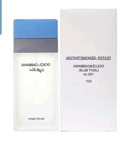 DOLCE GABBANA LIGHT BLUE 3.3 OZ  WOMEN PERFUME EDT 100ML 3.4