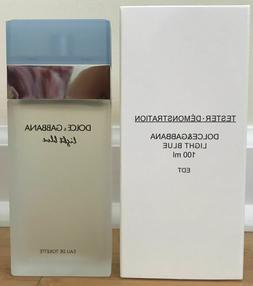 DOLCE GABBANA LIGHT BLUE 3.3oz WOMEN PERFUME D&G EDT 100mL 3