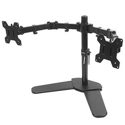 Dual Monitor Mount Dual LCD Monitor Desk Stand Fits Two Scre
