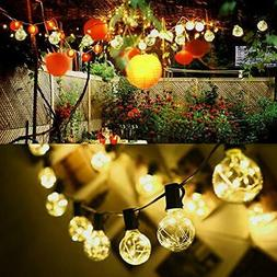ELectric 38.4ft 30LED Ball Bulb Fairy String Lights Xmas Wed