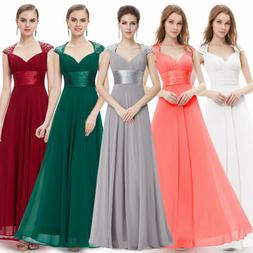 Ever-Pretty US Long Formal Cocktail Dresses Chiffon Evening
