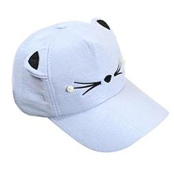 fashion pearl animal baseball cap sun hat