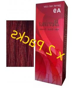 Berina Garnet Red Hair Dye A9 Hair Color Cream Dye 60G Pack