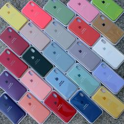 Genuine Original OEM Silicone Case Cover For iPhone XR XS Ma