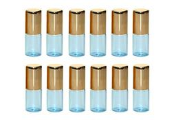 Glass Essential Oil Sample Packing Roll-on Bottles with Meta