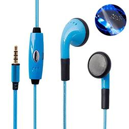 Sport Headset,AutumnFall Glow In The Dark Stereo Blocking LE
