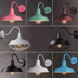 Hot Retro Industrial Gooseneck Barn Wall Sconce Lamp Fixture